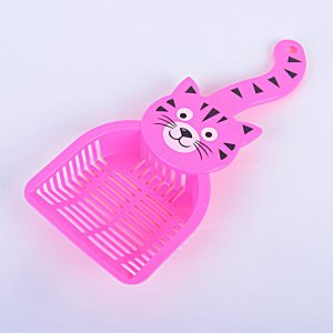 Cat litter scoop tail