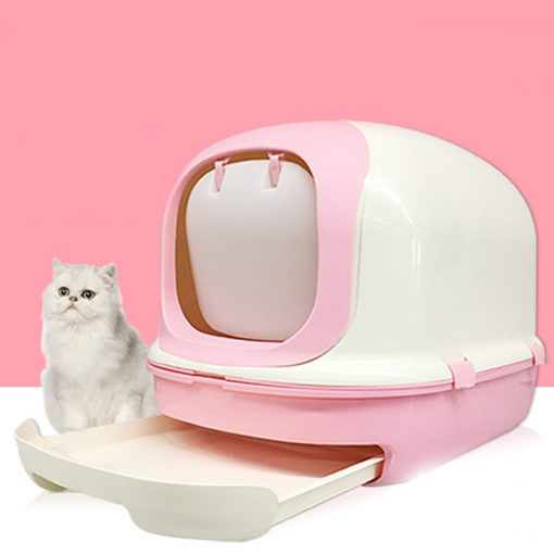 Cat Litter Box Tray-Totally Closed Cat Toilet