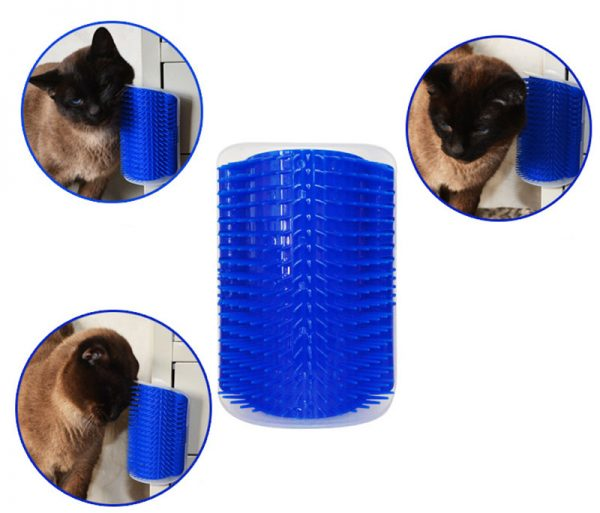 Cat self grooming cat brush is best brush for cats.Its also fill with catnip to make it more attractive for cats to self groom