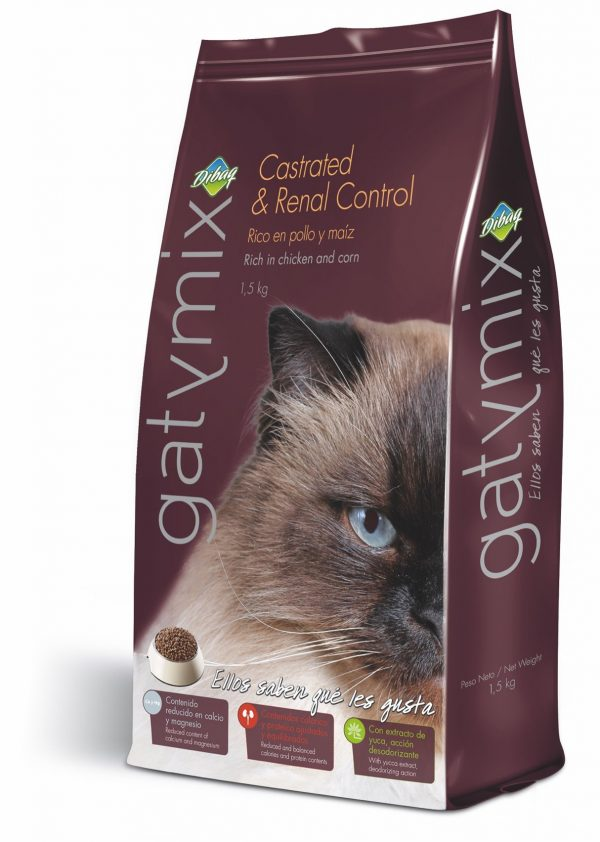 GATYMIX CAT FOOD CASTRATED