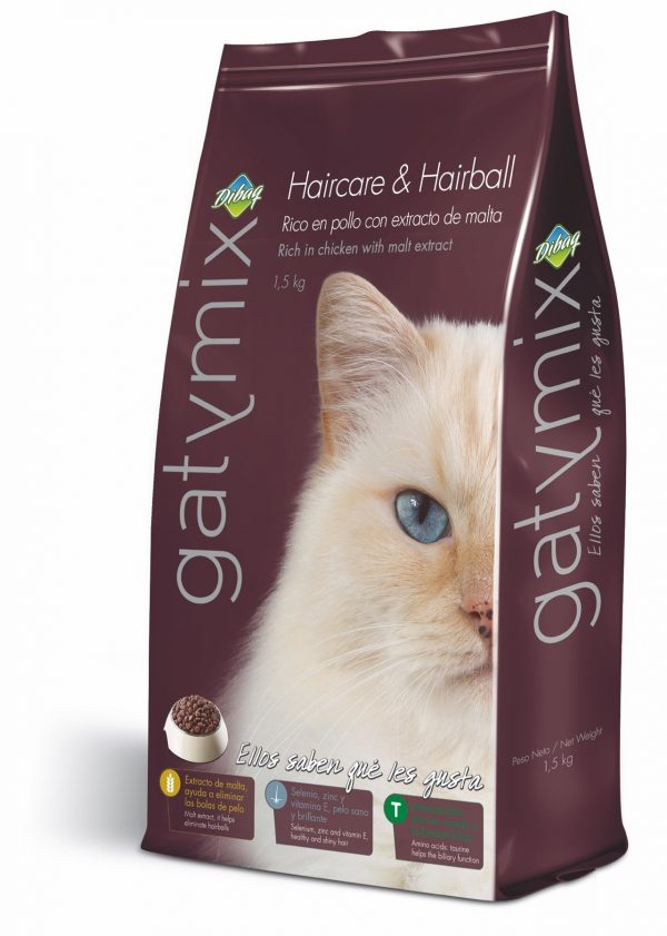 GATYMIX CAT FOOD HAIRCARE