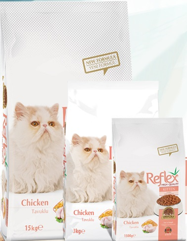 Reflex Kitten Food Chicken