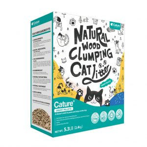 Cat Litter Cature Natural