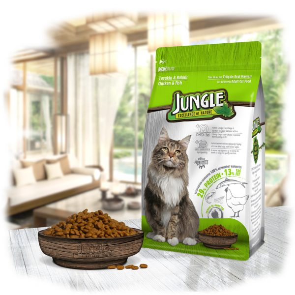 Cat Food Jungle Chicken