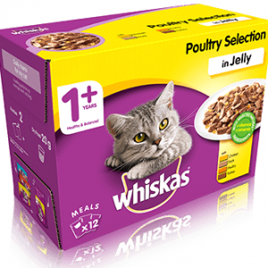 Cat WHISKAS Jelly Poultry